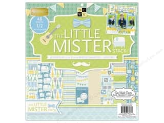 Die Cuts 12 x 12 in. Cardstock Mat Stack Little Mister