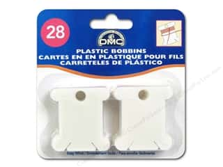 DMC: DMC Floss Bobbins 28 pc. Plastic