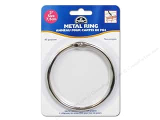DMC inches: DMC Metal Craft Rings 3 in. 1 pc.