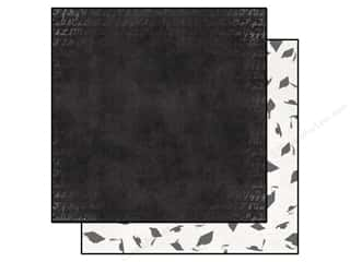 Clearance Blumenthal Favorite Findings: Bo Bunny 12 x 12 in. Paper Pop Quiz Chalkboard (25 piece)
