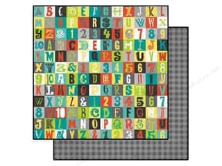 Bo Bunny 12 x 12 in. Paper Our Lil' Monster All-Star (25 piece)