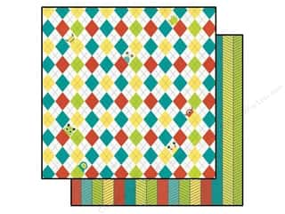 Bo Bunny 12 x 12 in. Paper Our Lil' Monster Mayhem (25 piece)