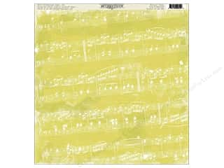 Music & Instruments paper dimensions: Authentique 12 x 12 in. Paper Nostalgic Essentials Collection Musical (12 pieces)