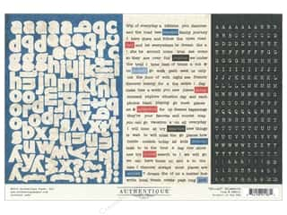 Authentique Stickers 12 x 8 in. Abroad Elements