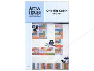 Log Cabin Quilts: Row House Creations One Big Cabin Pattern