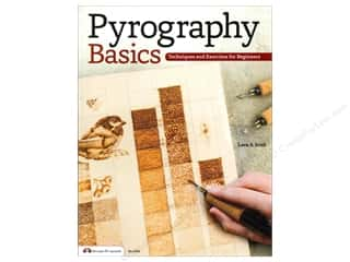 Crafts: Pyrography Basics Book