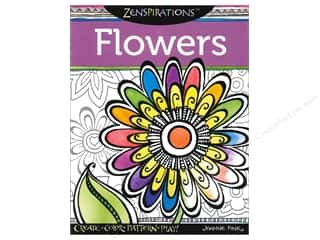 Flowers Books & Patterns: Design Originals Zenspirations Flowers Book by Joanne Fink