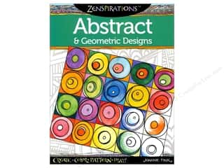 Paints Drawing: Design Originals Zenspirations Abstract & Geometric Designs Book by Joanne Fink
