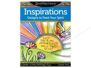 Activity Books / Puzzle Books: Design Originals Zenspirations Inspirations Book by Joanne Fink
