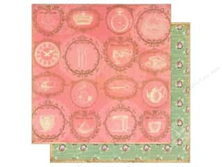 Marion Smith Paper 12x12 Mad Tea Party Spot of Tea (20 piece)