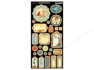 Weekly Specials Beach & Nautical: Graphic 45 Die Cut By The Sea Chipboard 1