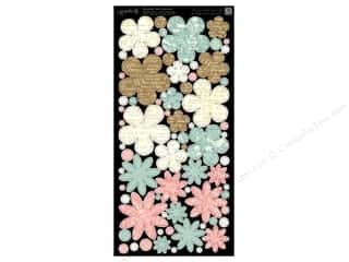 Weekly Specials Brown: Graphic 45 Cardstock Shapes Botanical Tea Flowers