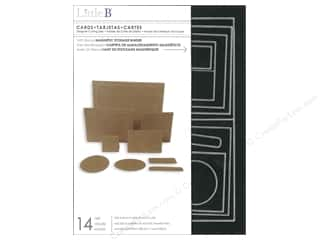 Little B Cutting Dies Template Cards