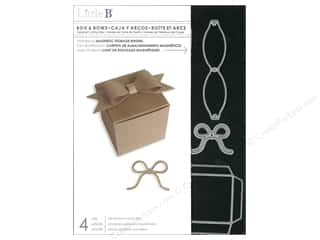 Little B Cutting Dies Template Box & Bows