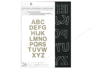 Dies ABC & 123: Little B Cutting Dies Monogram Alphabet
