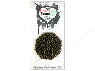 Marion Smith Beading & Jewelry Making Supplies: Marion Smith Embellishment Junque & Gems Filigree Doily