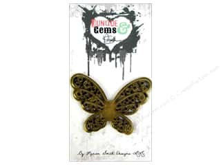 Marion Smith Beading & Jewelry Making Supplies: Marion Smith Embellishment Junque & Gems Butterflies