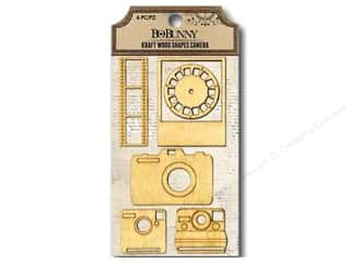 Doily Bo Bunny Embellishments: Bo Bunny Kraft Wood Shapes Camera
