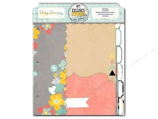 Bo Bunny Refill Baby Bump Misc Me Journal Dividers