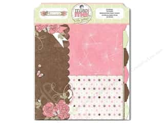 Files Brown: Bo Bunny Misc Me Journal Dividers Primrose