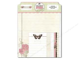 Insects $4 - $6: Bo Bunny Misc Me Notepaper Primrose