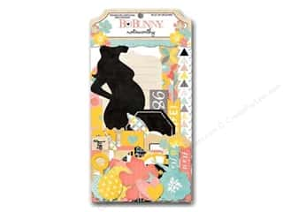 Bo Bunny Hearts: Bo Bunny Noteworthy Journaling Cards Baby Bump