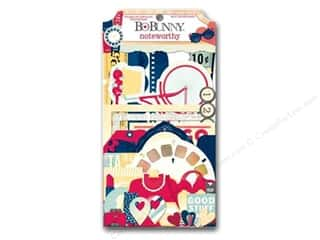 Bo Bunny Paper Die Cuts / Paper Shapes: Bo Bunny Noteworthy Journaling Cards Modern Miss