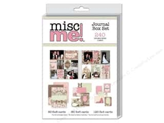 Bo Bunny Misc Me: Bo Bunny Journal Card Primrose Misc Me Set