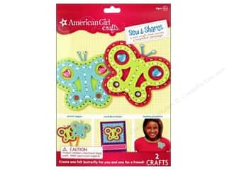 American Girl inches: American Girl Kit Sew & Shares Butterflies