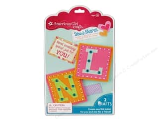 felting kits: American Girl Kit Sew & Shares Initials