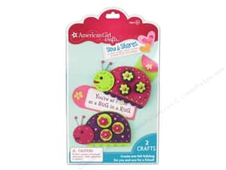 felting kits: American Girl Kit Sew & Shares Ladybug