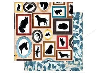 Bo Bunny Paper 12x12 Happy Tails Menagerie (25 piece)