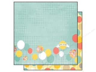Outdoors Bo Bunny 12 x 12 in. Paper: Bo Bunny 12 x 12 in. Paper Baby Bump Collection Expecting (25 pieces)