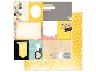 Outdoors Bo Bunny 12 x 12 in. Paper: Bo Bunny 12 x 12 in. Paper Baby Bump Collection Gift Of Love (25 pieces)