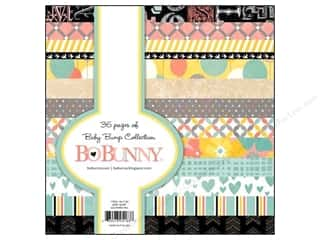 Blank Card & Envelopes: Bo Bunny 6 x 6 in. Paper Pad Baby Bump