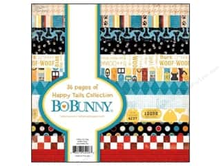 Glitz Design 6 x 6: Bo Bunny 6 x 6 in. Paper Pad Happy Tails
