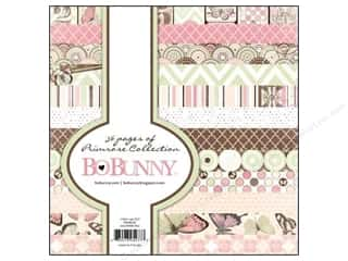 This & That 6 x 6: Bo Bunny 6 x 6 in. Paper Pad Primrose