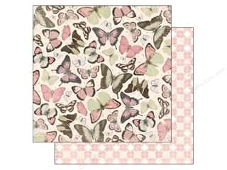 Outdoors Bo Bunny 12 x 12 in. Paper: Bo Bunny 12 x 12 in. Paper Primrose Collection Bliss (25 sheets)