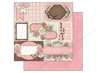 Bo Bunny 12 x 12 in. Paper Primrose Breathtaking (25 piece)