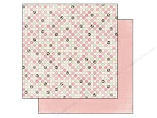 Outdoors Bo Bunny 12 x 12 in. Paper: Bo Bunny 12 x 12 in. Paper Primrose Collection Dot (25 sheets)
