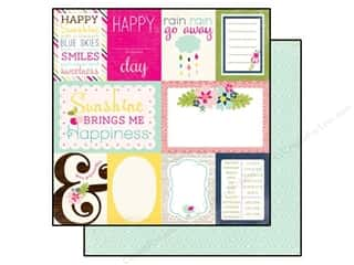 Echo Park 12 x 12 in. Paper Splendid Sunshine Journaling Cards (25 piece)