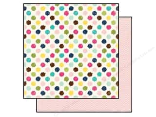 Spring Printed Cardstock: Echo Park 12 x 12 in. Paper Splendid Sunshine Collection Darling Dots (25 sheets)