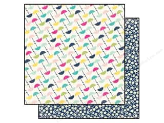 Echo Park Paper Company: Echo Park 12 x 12 in. Paper Splendid Sunshine Collection Umbrella (25 pieces)
