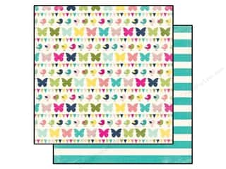 Clearance Blumenthal Favorite Findings: Echo Park 12 x 12 in. Paper Splendid Sunshine Flitter Flutter (25 piece)