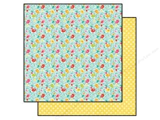 Echo Park Paper Company $12 - $16: Echo Park 12 x 12 in. Paper Summer Bliss Collection Birdie Bliss (25 sheets)