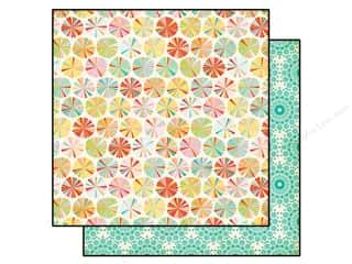 Echo Park 12 x 12 in. Paper Summer Bliss Summer Circle (25 piece)