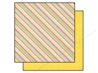Echo Park 12 x 12 in. Paper Summer Bliss Summer Stripes (25 piece)