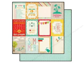 Summer Fun: Echo Park 12 x 12 in. Paper Summer Bliss Say Hello (25 piece)