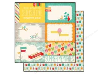 Echo Park 12 x 12 in. Paper Summer Bliss Summer Memories (25 piece)