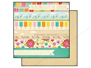 Echo Park 12 x 12 in. Paper Summer Bliss Summer Days (25 piece)